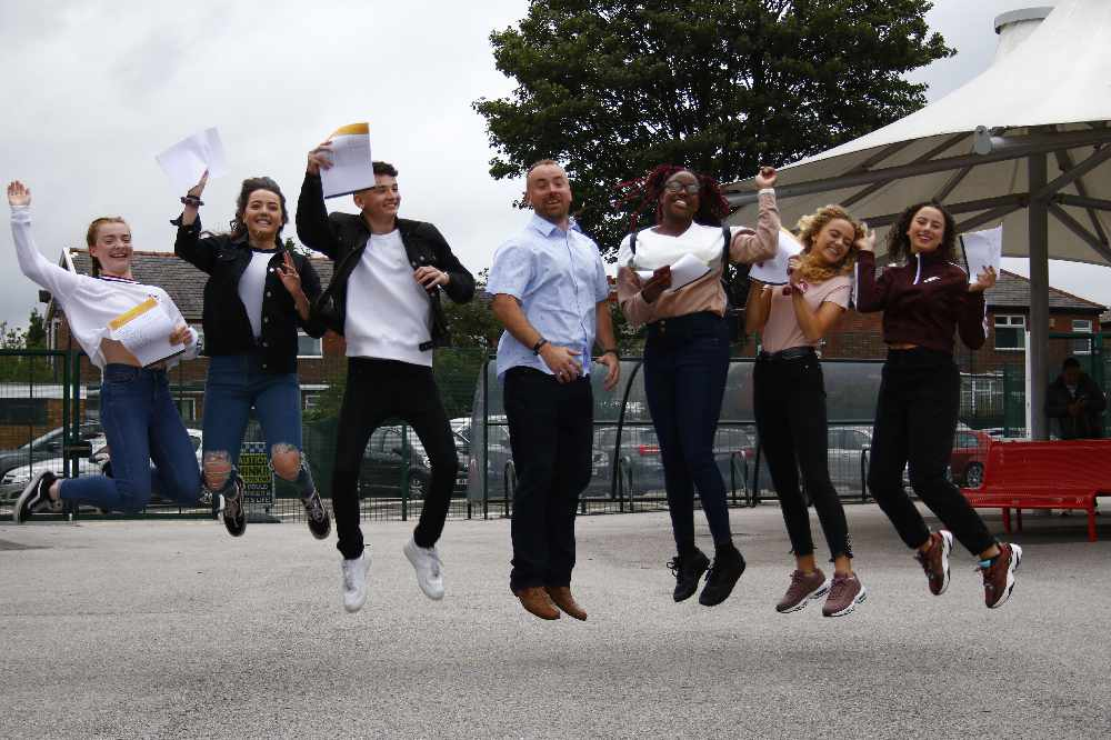 Improvement across Tameside as pupils celebrate GCSE success