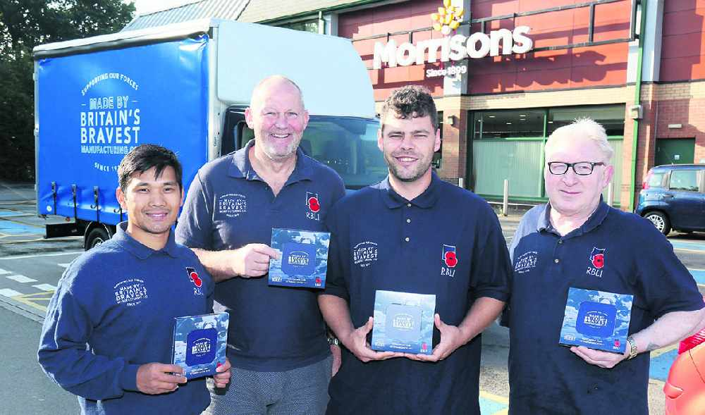 Morrisons Dukinfield joins drive to help vulnerable veterans