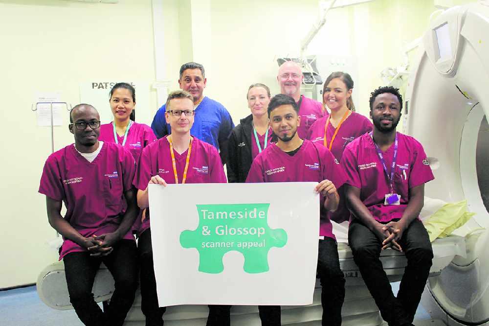 Radiology team back hospital scanner appeal