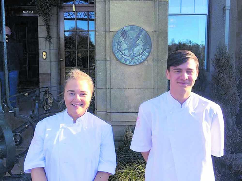 College student lands at Gleneagles