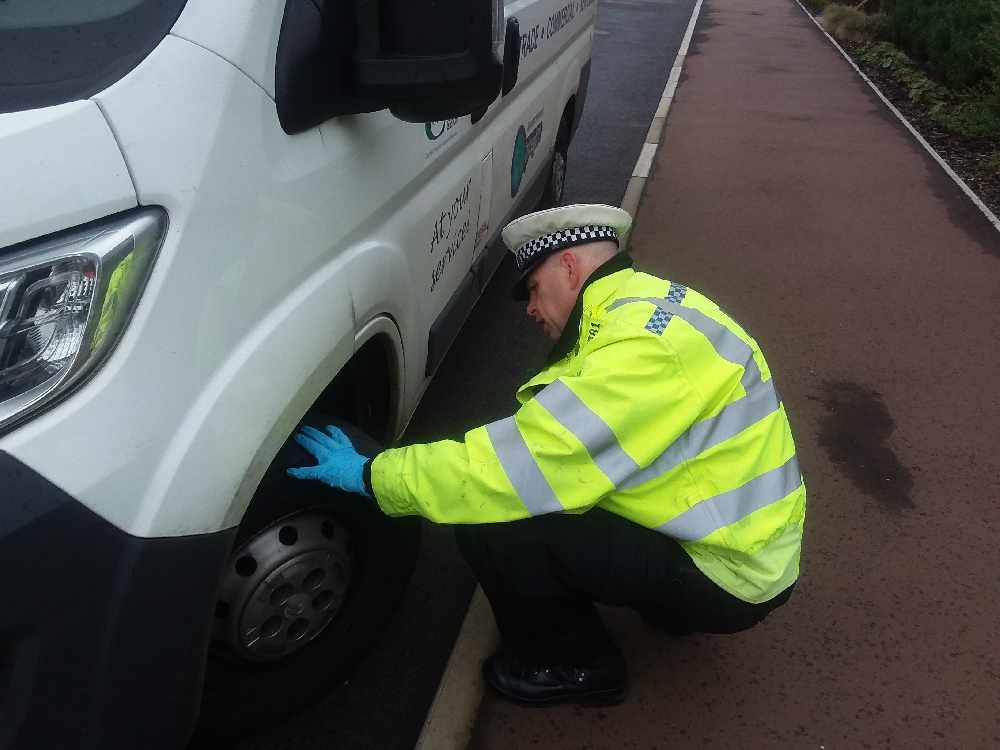 Police clamp down on tyre safety
