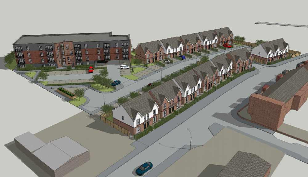 Plans for 62 homes in Droylsden