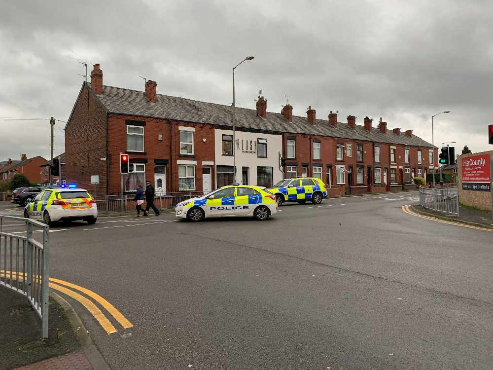 Man 'claiming to have explosive device' arrested in Dukinfield