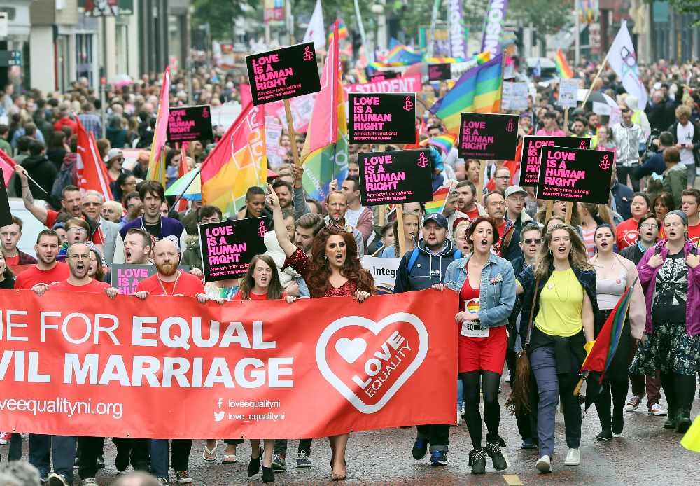 ireland and same sex marriage in San Diego