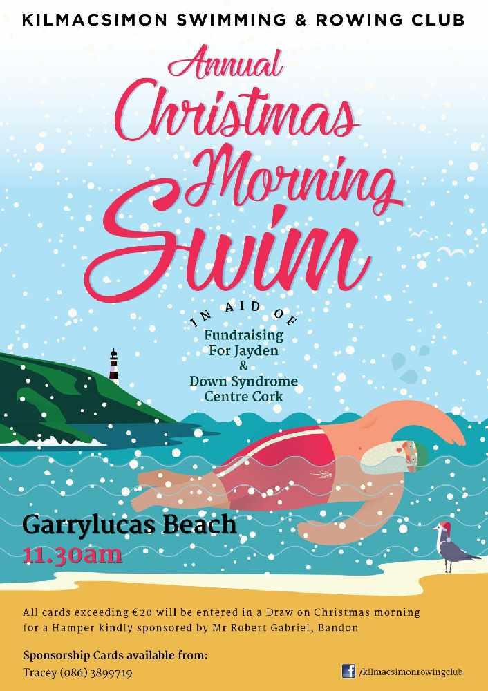 Kilmacsimon Rowing Club Annual Christmas Morning Swim - C103
