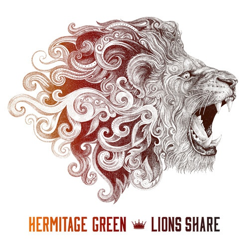 Hermitage Green Lion's share artwork