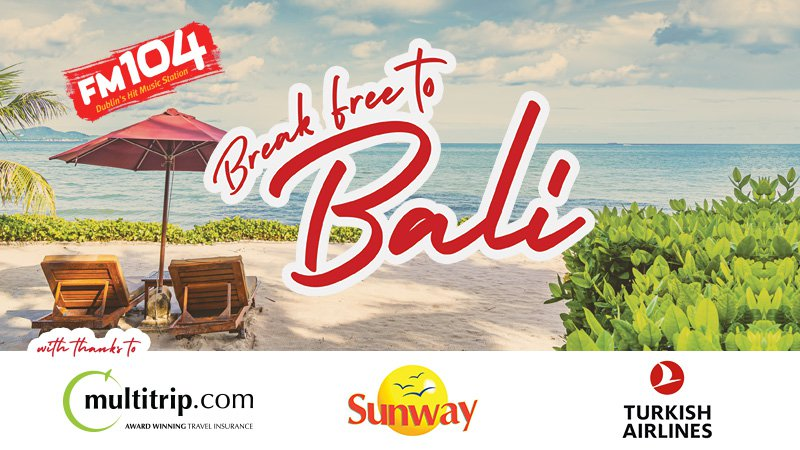 Win a holiday to Bali with FM104