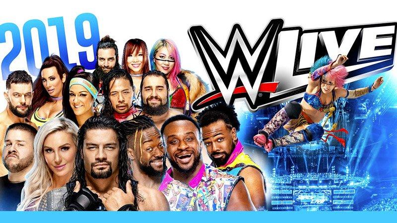 WWE 2019 3Arena