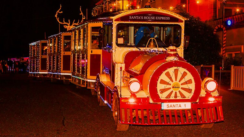 Santa's House Express Train