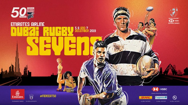Emirates Airlines Dubai rugby sevens competition