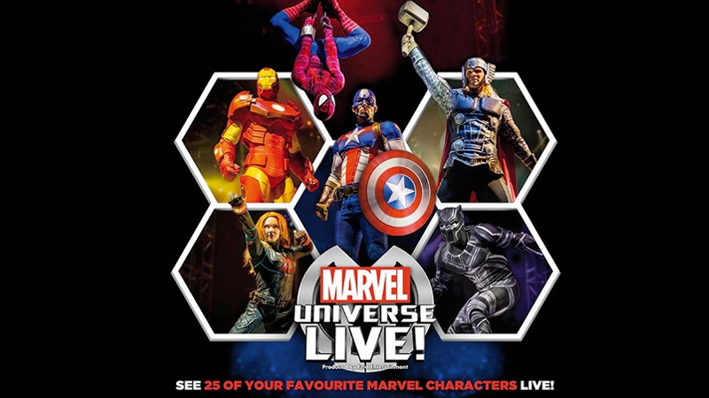 Marvel Live in the Three Arena