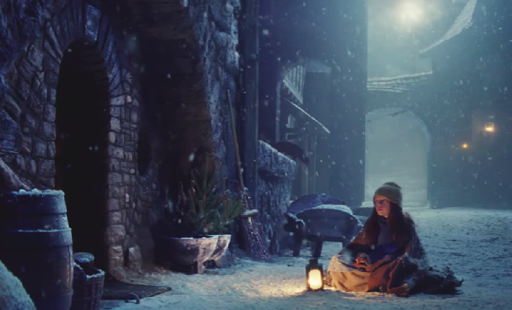 Bastille sing on this year's John Lewis Christmas advert