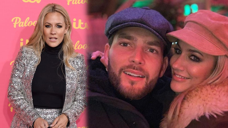 Caroline Flack: Lewis Burton defends 'lovely' girlfriend after arrest