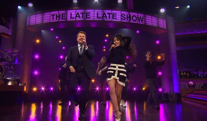 Camila Cabello covers Shawn Mendes, Lil Nas X for James Corden's Riff Off