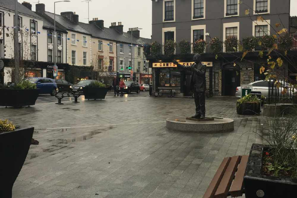 Colourful Messages Appearing In Westmeath Town During